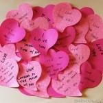 Dia de S. Valentim em casa