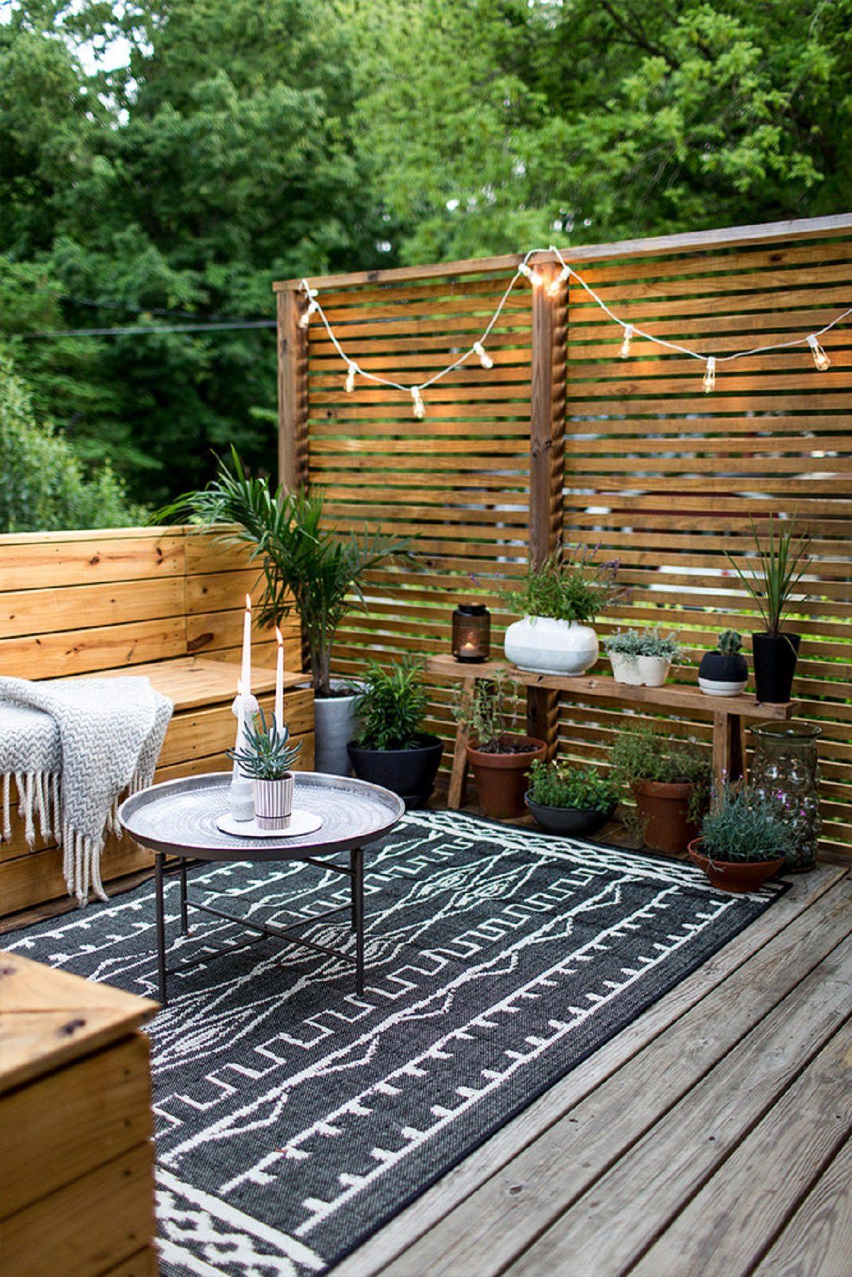 Outdoor Decor: 4 Dicas de decoração de espaços exteriores