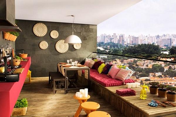 Outdoor decor 4 dicas de decora o de espa os exteriores - Decoracion de espacios pequenos exteriores ...