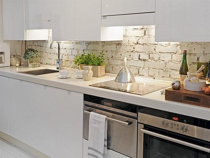 cozinha decoração tijolo