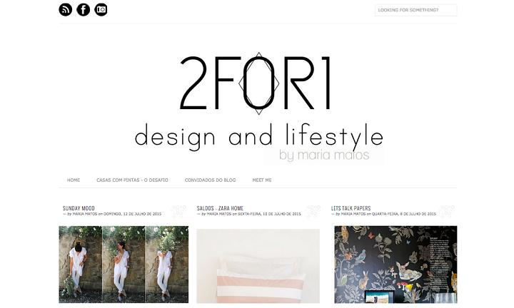 Maria Matos 2 for 1 design