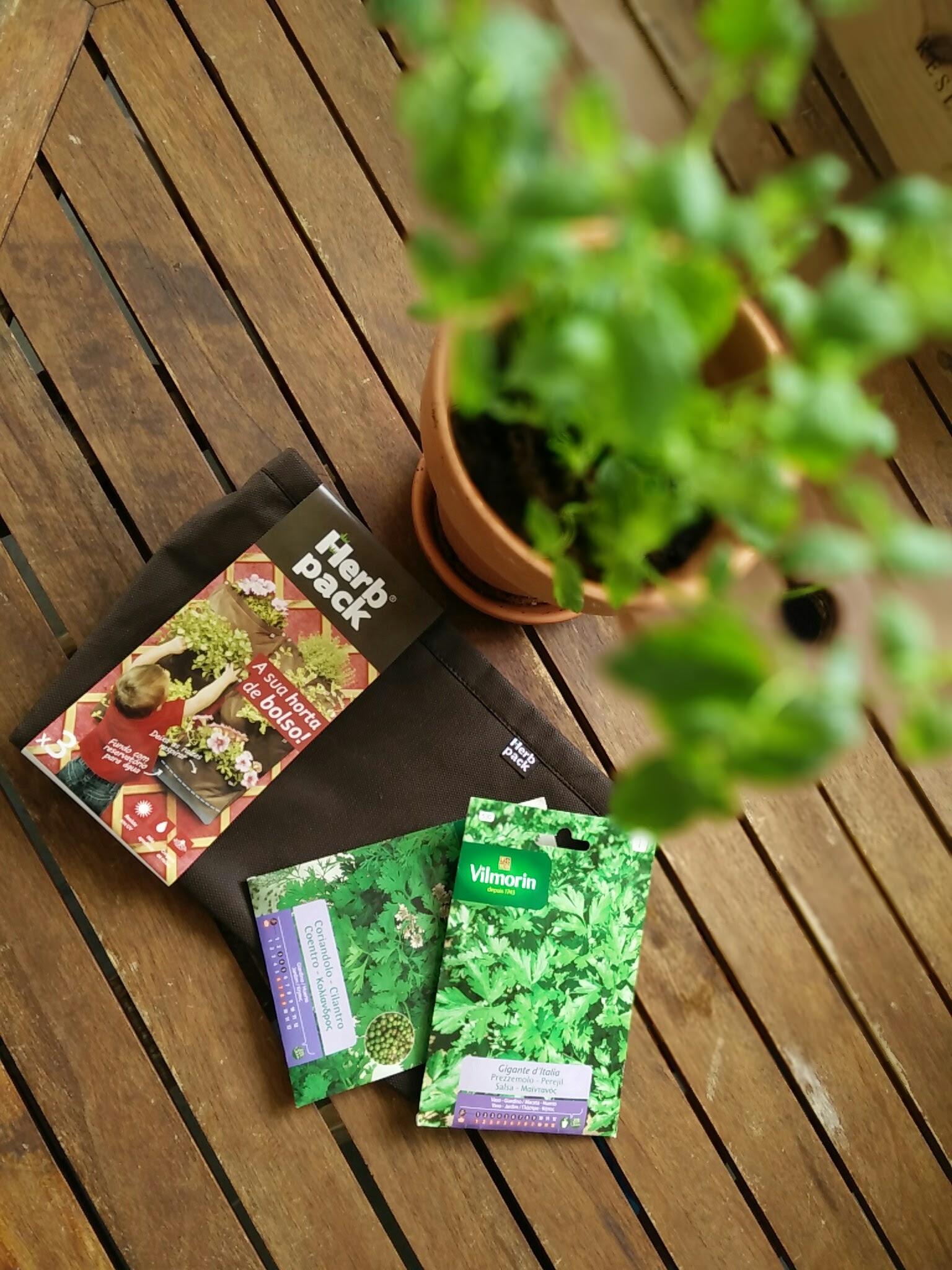 Herb Pack: ervas aromáticas