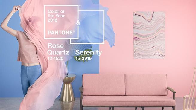 Cor do ano 2016 by Pantone: Rosa Quartz e Azul Serenity